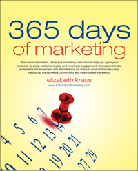 365 Days of Marketing Book by Elizabeth Kraus