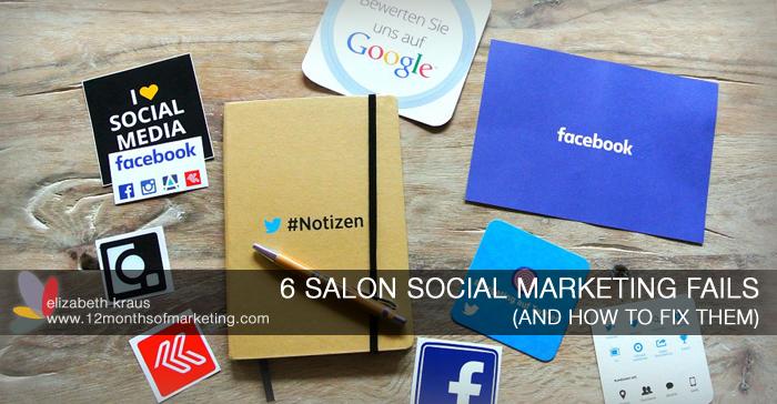 salon social marketing ideas
