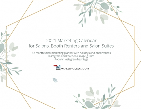 2021 Salon Marketing Calendar