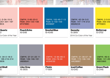 2016 Trend Colors and Color of the Year for Salon Marketing