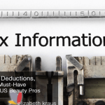 Salon Taxes, Deductions, Software