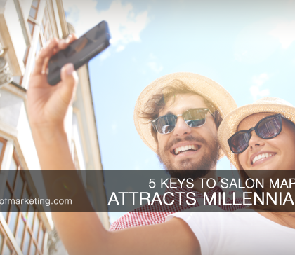 salon marketing attracting millennials