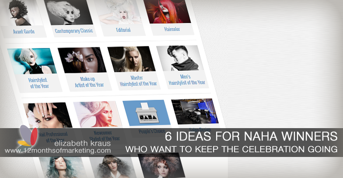 Ideas for NAHA winners marketing