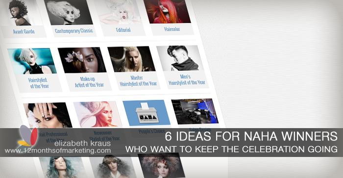 Ideas for NAHA winners marketing