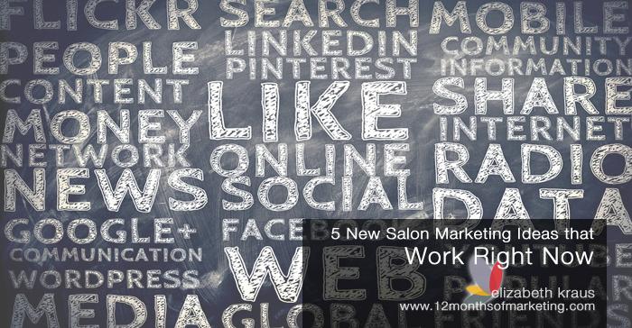 5 New Salon Marketing Ideas