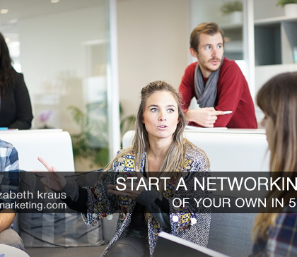 Start a b2b networking group