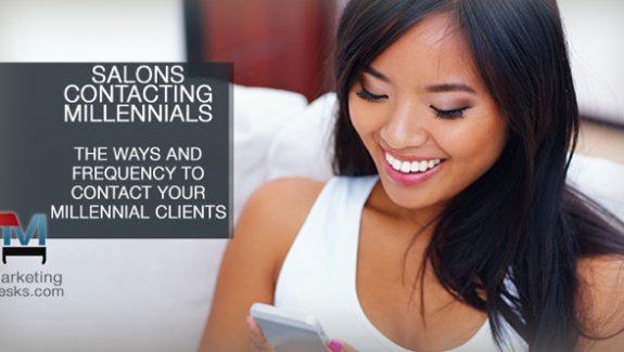 salons contacting millennials