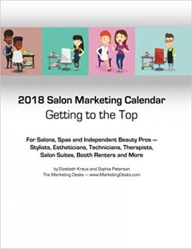 2018 Salon Marketing Calendar