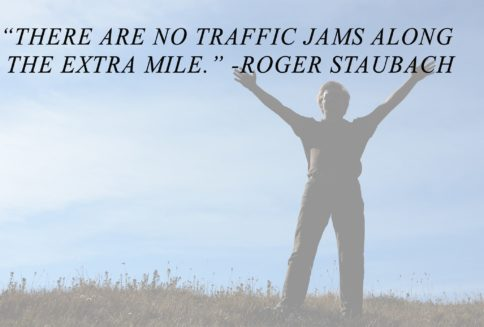 Roger Staubach customer service quote