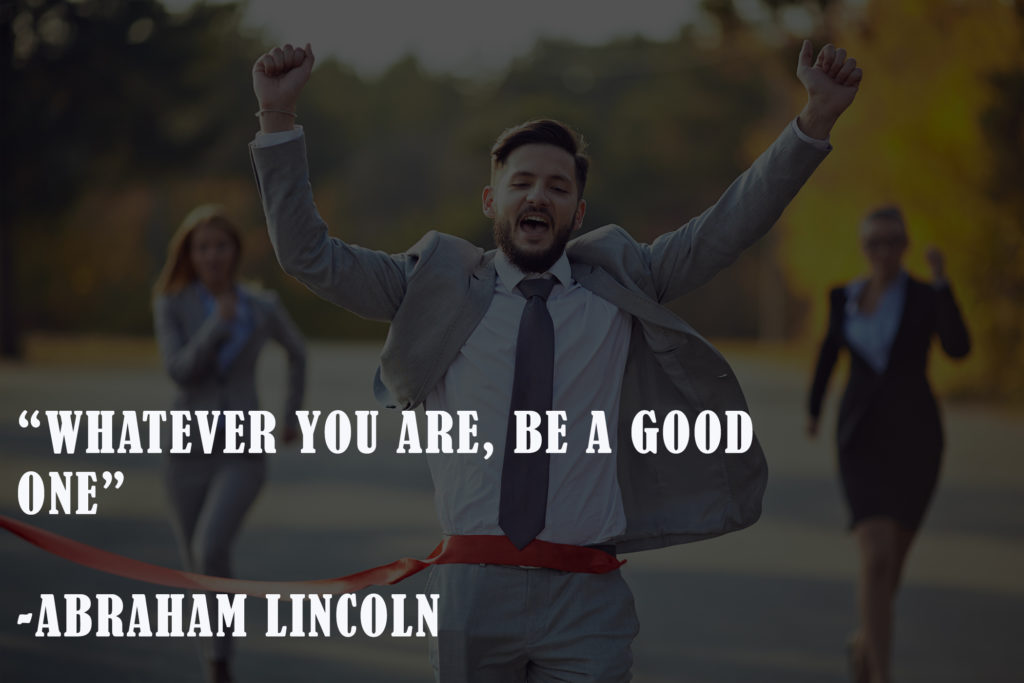 Abe Lincoln New Year leadership quotes