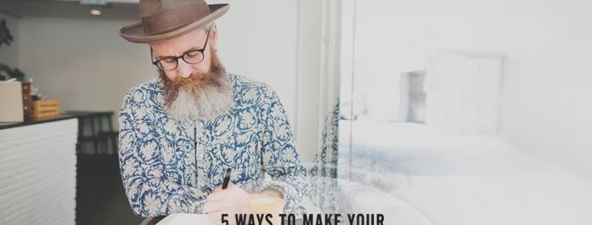 5 Ways to Make Your Brand Story Amazing
