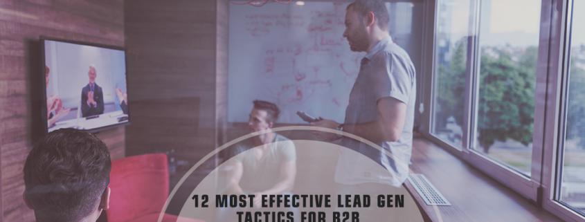 12 Successful B2B Lead Generation Tactics by Rank