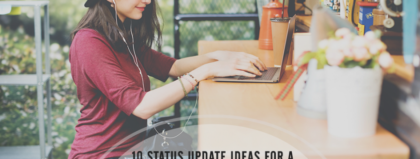 10 status update ideas for a b2b social marketing plan