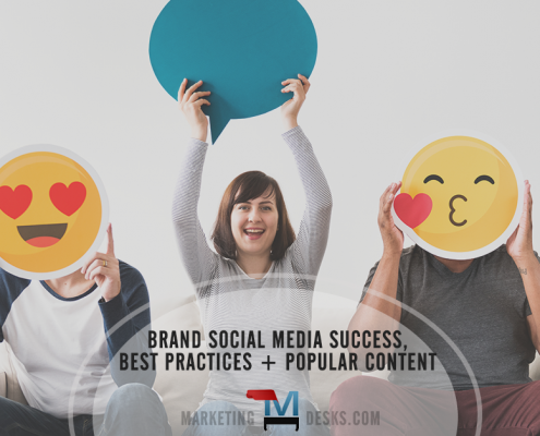 Brand Social Media - Keys to Success, Best Practices and Most Popular Content