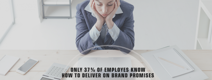 Only 37 Percent of Employees Fulfill Brand Promises - Study - Infographic