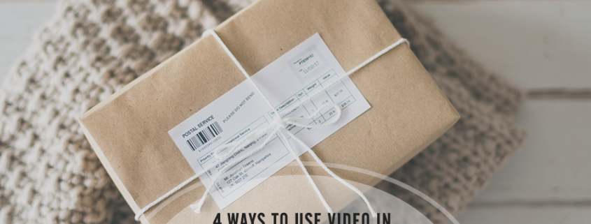 E-Commerce Product Marketing - 4 Ways to Use Video - Infographic