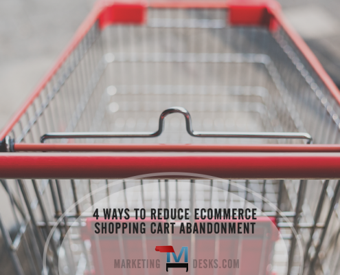4 ways to reduce ecommerce shopping cart abandonment