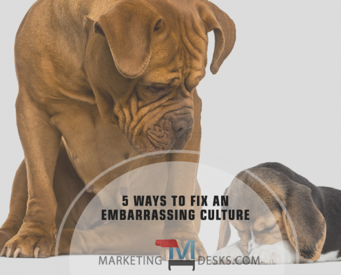 5 Ways to Fix an Embarrassing Employee Culture