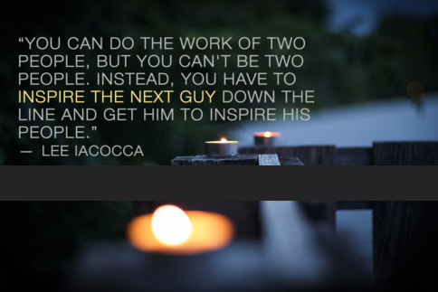 Lee Iacocca leadership employee engagement quotes