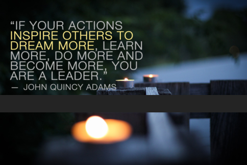 John Quincy Adams presidential leadership quotes