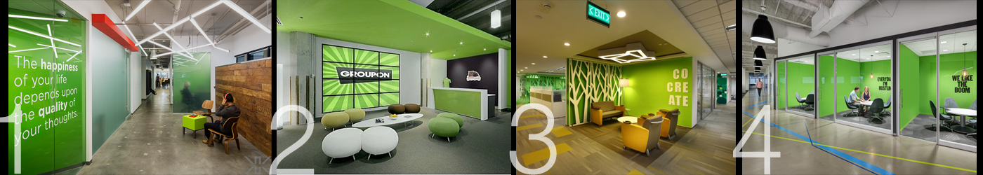 Using green in the workplace