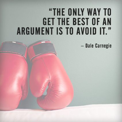 quotes - handle disagreements in the workplace