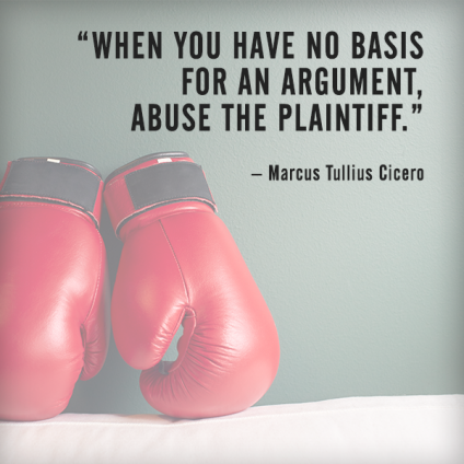 Cicero quotes - handle disagreements in the workplace