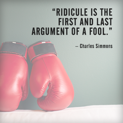 fallacies - quotes - handle disagreements in the workplace