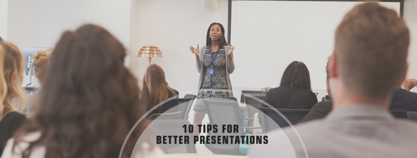 Special Delivery - Top 10 Tips for Improving Presentations