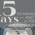 15 Negotiation Skills to Navigate a Tough Negotiation - Infographic