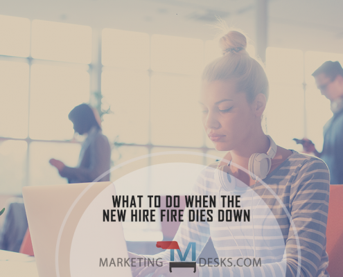 What to Do When the New Hire Fire Dies Down to Keep Your Team Engaged