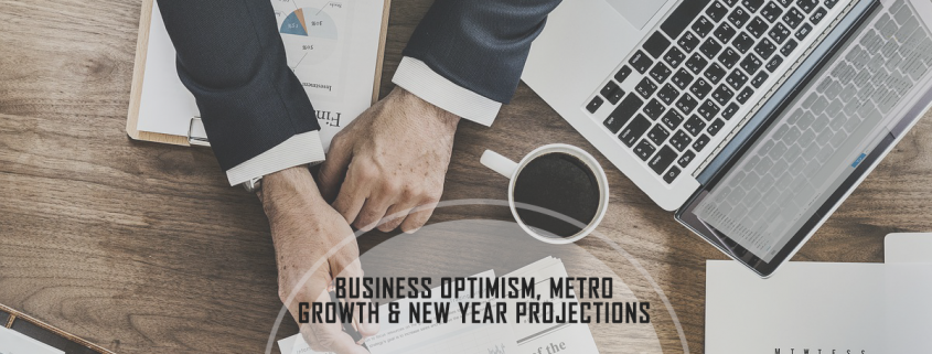 Business Owner Optimism, Metro Growth, and New Year Projections