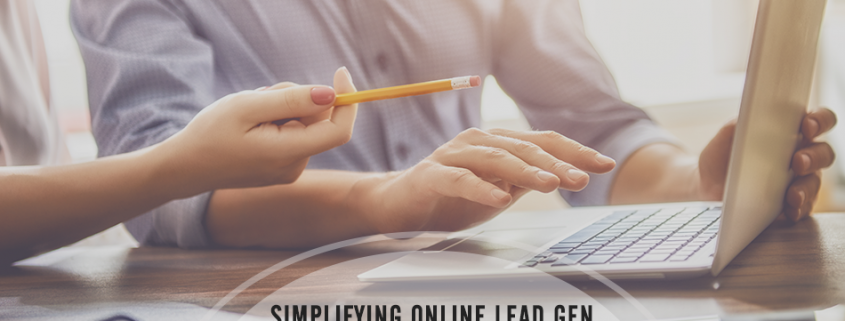 Simplifying Online Lead Generation in the Supply Chain - Infographic