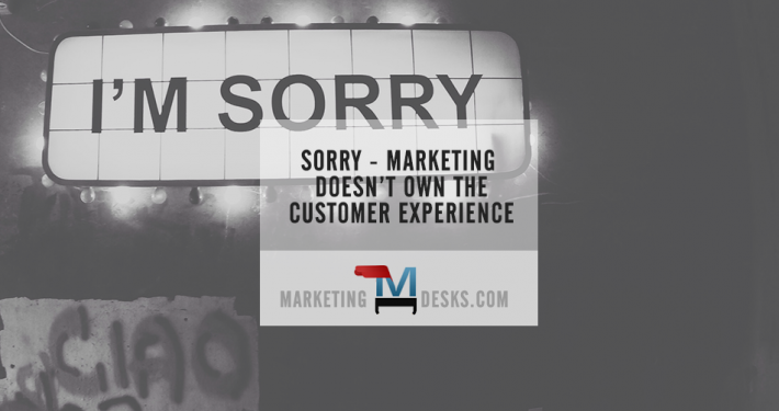 Does marketing own the customer experience?