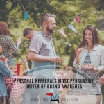Personal Referrals Most Persuasive Driver of Brand Awareness