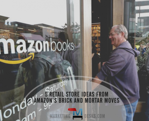 5 retail store ideas from amazon's brick and mortar moves