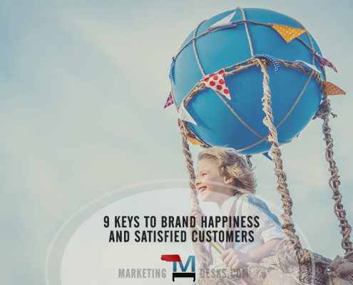 9 keys to brand happiness and satisfied customers