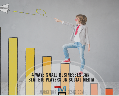 4 Social Marketing Strategies that Help a Small Business Beat Big Players
