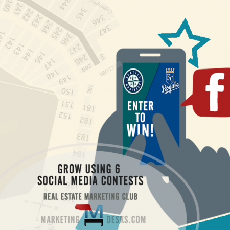 real estate marketing club - using social media contests