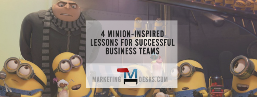 4 Minion-Inspired Lessons for Successful Business Teams