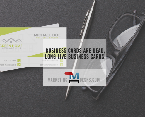Business Cards are Dead – Long Live Video Business Cards!