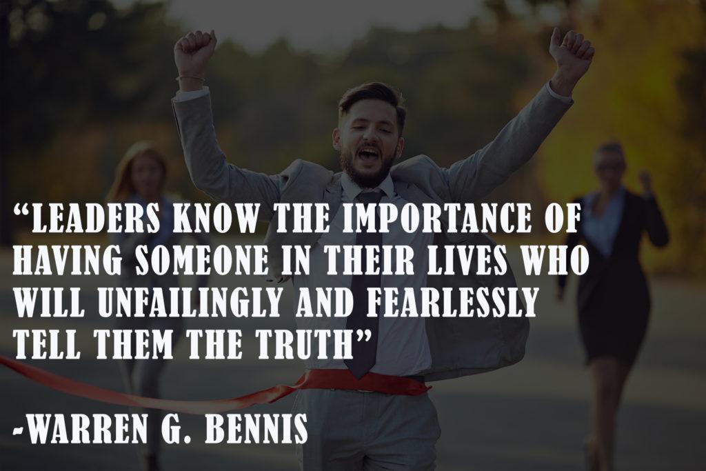 Warren Bennis New Year leadership quotes
