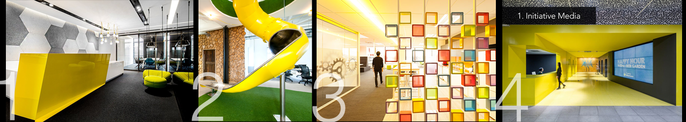 Using yellow in the workplace